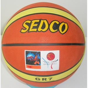 MÍČ BASKET SEDCO ORANGE SUPER VEL.7