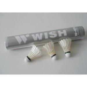 Míček badminton peří WISH 09