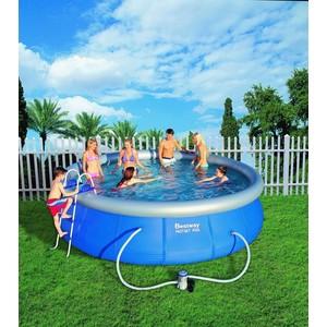 Samostavěcí zahradní bazén 457 x 107 cm s příslušenstvím