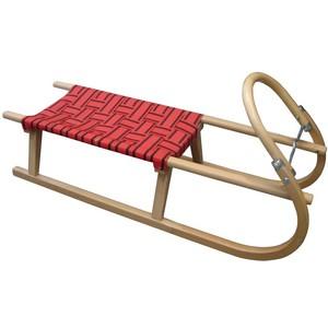 Acra sáně 110cm dřevěné - červené