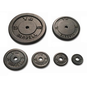 Kotouč litinový York Fitness 5 kg průměr 2,54 cm - Výprodej