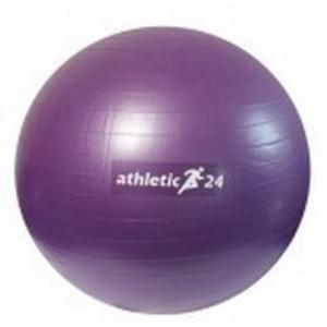 Gymnastický míč Classic 65cm ATHLETIC24 červený