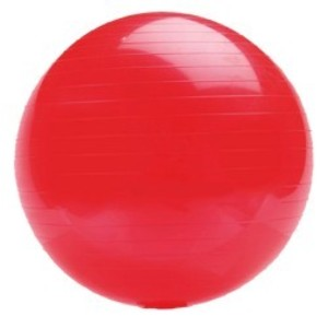 Gymnastický míč PLATINIUM Classic 55 červená