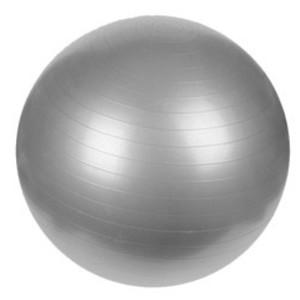 Gymnastický míč PLATINIUM Classic 55 stříbrná