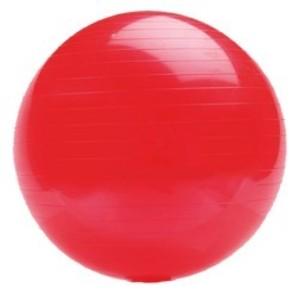 Gymnastický míč PLATINIUM Classic 65 červená