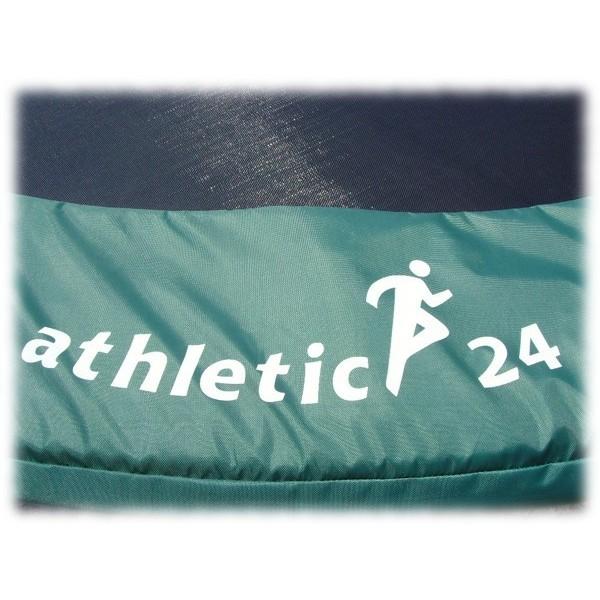ATHLETIC24 Kryt pružin na trampolínu 183 cm, zelený