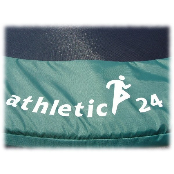 ATHLETIC24 Kryt pružin na trampolínu 244 cm, zelený