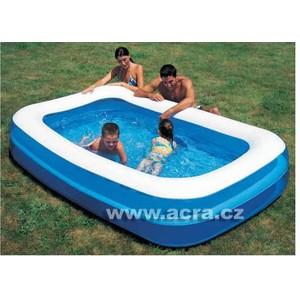 Bestway 54005 Nafukovací bazén Family dvoukomorový