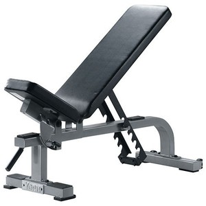 YORK Flat To Incline Bench Silver 55027 posilovací lavice