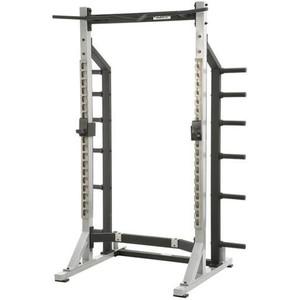 YORK Self Standing Half Rack Silver 55009 tréningové stanovitě pro činky