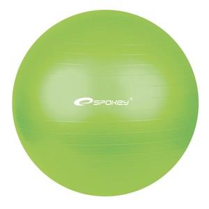 Spokey FITBALL-Fitness míč zelený 55 cm včetně pumpičky NOVÝ DESIGN