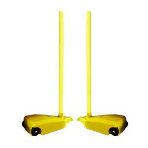 Sloupky na síť badminton se zátěží SEDCO mobilní