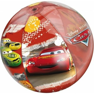 Nafukovací plážový míč CARS 50cm