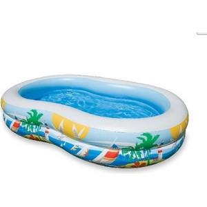 nafukovací bazén Intex rajská laguna 262x160 cm