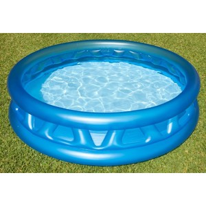 nafukovací bazén Intex Soft stříbrný 188x46