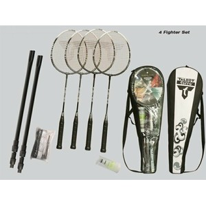 TALBOT-TORRO - 4-Fighter Set Telescopic Net - Badmintonový set