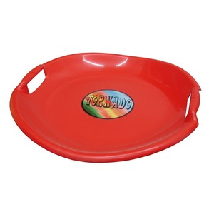 Acra Tornádo talíř sáňkovací 05-A2034/1 - červený