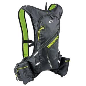 SPRINTER - Cyklistický a běžecký batoh  5l zeleno/černý, vodotěsný