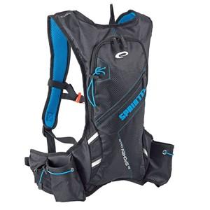 SPRINTER Cyklistický a běžecký batoh 5l modro/černý, vodotěsný