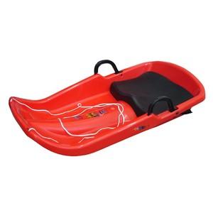 Acra Cyclone plastový bob A2036 - červený