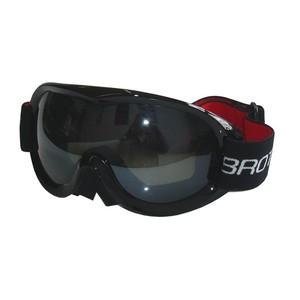 BROTHER B259-CRN lyžařské brýle pro dospělé - dvojsklo - černé