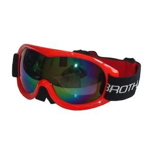 BROTHER B259-CRV lyžařské brýle pro dospělé - dvojsklo - červené