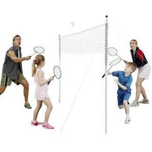 Síť badminton Rekreant s tyčemi
