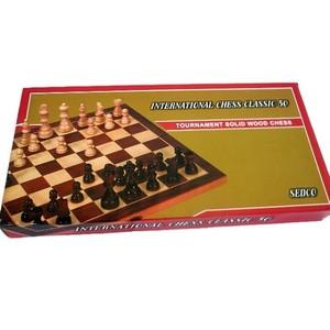 Šachy  dřevěné EXTRA + backgammon