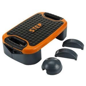 Bedýnka pro step COMBI SEDCO vel. 54x33,5 cmx14cm barva černo/oranžová
