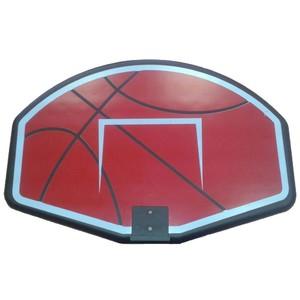 Panel na basket s košem a síťkou SEDCO červený velikost 75X52X2,5cm