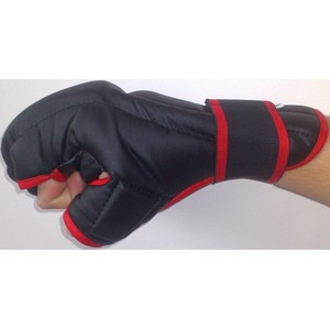 Rukavice Kung-fu PU597 EFFEA velikost L, M, S, XL červeno/černé