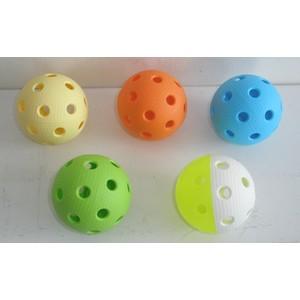Florbalový míček  TRIX IFF barevný
