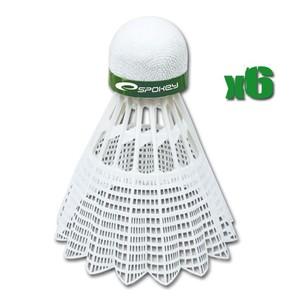 Spokey SHOOT-Badmintonové míčky 6ks