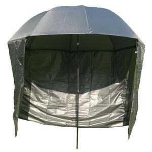 Rybářský deštník s bočnicemi SEDCO 500503 barva khaki průměr 180 cm