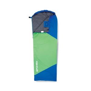 ULTRALIGHT 600  II spací pytel  modro/zelený, pravé zapínání, po složení 20x12 cm