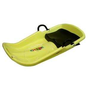 Acra Cyclone plastový bob A2036 - žlutý