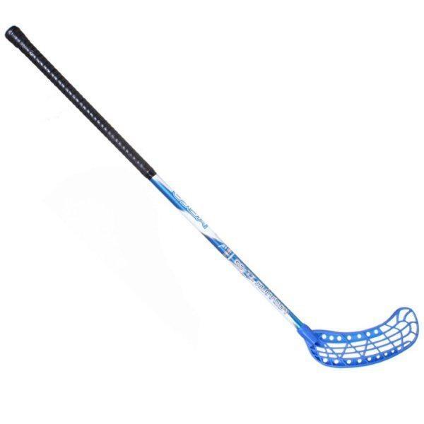 Florbalová hůl AERO 95 SONA modrá levá