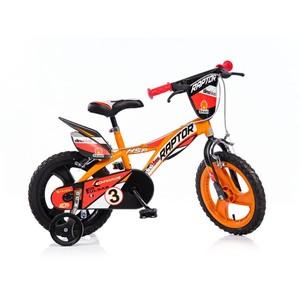 """ACRA Dino 143GLN oranžová 14"""" 2017 dětské kolo"""