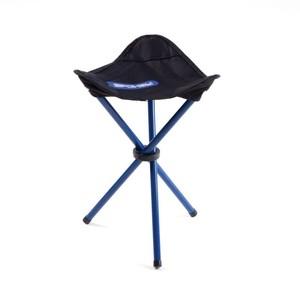 PATHOOK Rozkládací židle-trojnožka černo - modrá