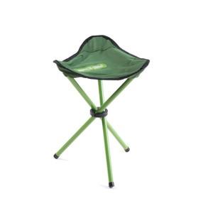 PATHOOK Rozkládací židle-trojnožka zelená