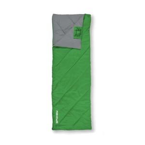 COZY II Spací pytel deka, zelený, pravé zapínání