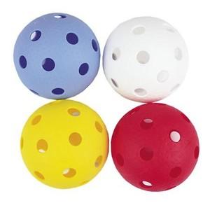 Spokey DOMAIN-Florbalové míčky 4ks barevné
