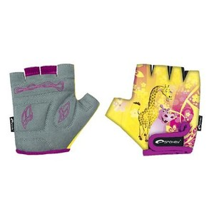 Spokey GIRAFFE GLOVE - Cyklistické rukavice XXS, XS