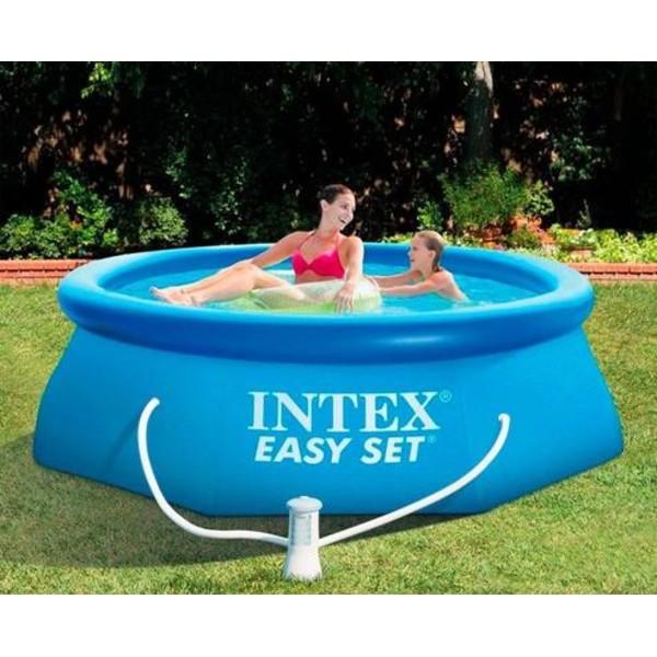 Bazén Intex Easy 244 X 76 cm s filtraciou