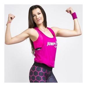 Top dámský růžový, velikost L - JUMPit