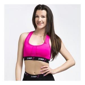 Sportovní podprsenka růžová, velikost M - JUMPit