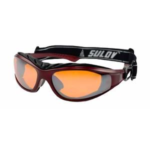 Zimní sportovní brýle SULOV ADULT II, metalická červená