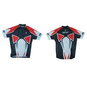 Cyklistický dres SULOV, vel. M, červený