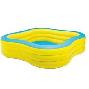 Bazén nafukovací  ČTVEREC TRANSPARENT 229X229
