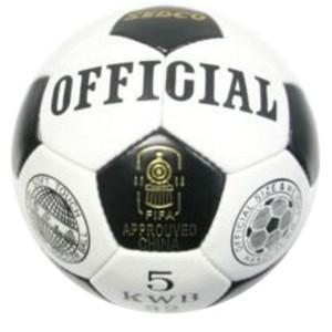 Fotbalový míč  OFFICIAL SEDCO KWB32